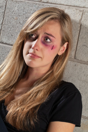 Battered woman stock photo - photo4design.com