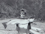 Me at 16, with a beautiful 16 lb. steelhead from the Skagit River.