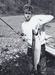 Me at 16, with a 16 lb. steelhead from the Skagit River.
